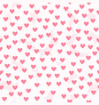 heart background with white fluffy spots seamless vector image