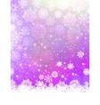 elegant snowflakes christmas vector image vector image