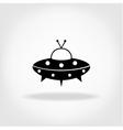 UFO Icon UFO Flying Saucer vector image