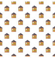 wood house pattern seamless vector image