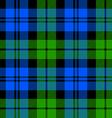 Black Watch milytary tartan seamless pattern vector image