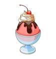Image of ice cream vector image