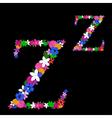 z letter vector image vector image