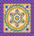 geometric pattern Ornate Bandana vector image