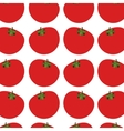 silhouette colorful pattern with tomatos vegetable vector image