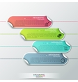 Abstract infographics template design with vector image