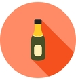 Champagne in Bottle vector image