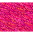 Pink doodle hair seamless pattern vector image vector image