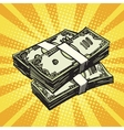 Money Finance dollars vector image