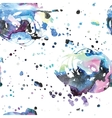 Watercolor galaxy background vector image