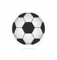 football ball soccer ball icon with shadow vector image