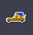 fashion patch  sale sticker car gifts vector image