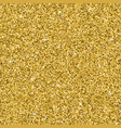 seamless yellow gold glitter texture shimmer vector image