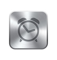 Alarm Clock icon button vector image vector image