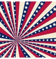 American striped background vector image