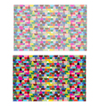 Colors Seamless Pattern Background vector image