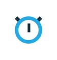 stopwatch colorful icon symbol premium quality vector image