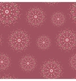 Ethnic seamless pattern with hand drawn mandalas vector image