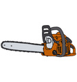 Power saw vector image