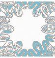 Snake background vector image