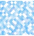 Seamless background with shiny blue squares vector image vector image