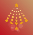 star of Christmas vector image vector image