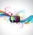colorful TV vector image