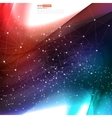 abstract background design wavy vector image vector image