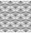 Design seamless monochrome mosaic pattern vector image