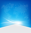 Abstract blue background 002 vector image