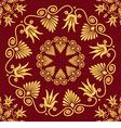 Seamless vintage elegant lace gold Greek ornament vector image