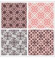 Seamless print patterns vector image
