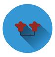 American football tackling sled icon vector image