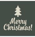 retro Christmas vector image