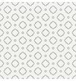 Geometric line monochrome lattice seamless arabic vector image