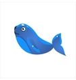 Blue Seal Icon vector image