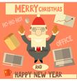 Cartoon Santa Claus Boss vector image