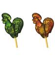 Lollipop cock vector image
