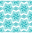 Ornamental blue floral background Seamless vector image