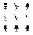saddle icons set simple style vector image