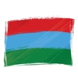 Grunge Karelia flag vector image