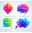 bubbles hipster set vector image