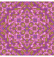 ethnic seamless mosaic pattern vector image