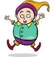 gnome or dwarf cartoon vector image