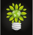 renewable energy design vector image