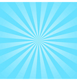 Blue rays star burst vector image