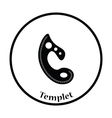 Tailor templet icon vector image