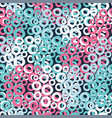 colorful bubbles seamless pattern background vector image