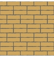 Seamless background of the brick wall vector image
