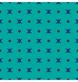 Star and polka dot geometric seamless pattern 51 vector image